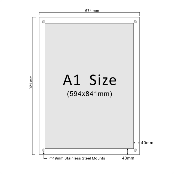 A1 Frame Size - Frame Design & Reviews